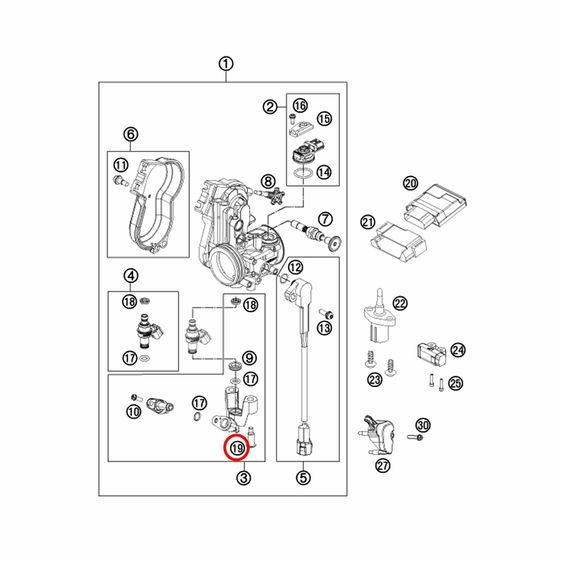 Parafuso-do-Tubo-de-Injecao-de-Combustivel-KTM-250-1190-07-16---75041013060