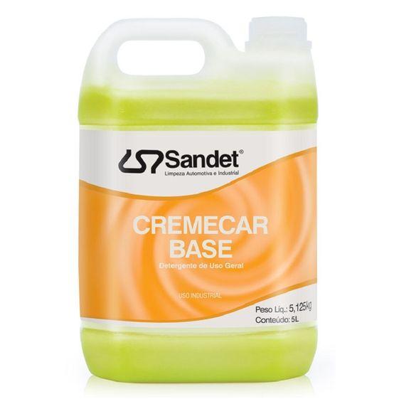 Shampoo Automotivo CremeCar Base Sandet 5 Litros